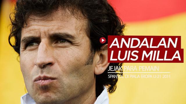 Berita video jejak terkini 11 pemain andalan Luis Milla saat Spanyol juara Piala Eropa U-21 2011, termasuk di dalamnya kiper David de Gea.