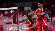 Kemenangan susah payah atas pasangan Australia yang kelasnya jauh di bawah ini menjadi alarm kewaspadaan bagi Praveen/Melati. Merek dituntut lebih fokus lagi di laga-laga ke depannya. (Foto: AFP/Alexander Nemenov)