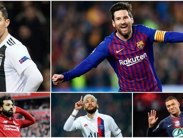 Daftar Pesepak Bola Paling Tajir di Dunia, Lionel Messi Kalahkan Cristiano Ronaldo