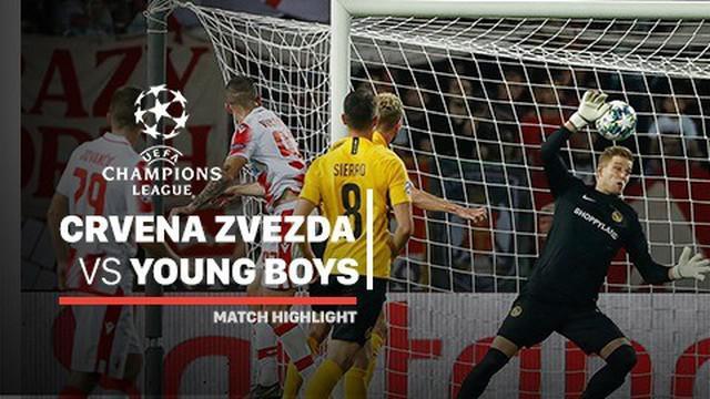 Berita video highlights leg I playoffs Liga Champions 2019-2020 antara Crvena Zvezda melawan Young Boys yang berakhir dengan skor 1-1, Selasa (27/8/2019).
