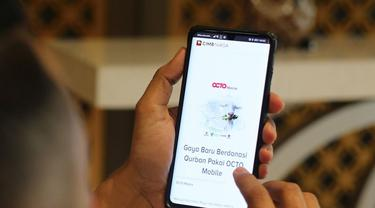 Fasilitas perbankan digital OCTO Mobile dan OCTO Clicks. (Dok CIMB Niaga)