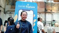 Atlet disabilitas Indonesia, Stephanie Handojo. (Liputan6.com/Cakrayuri)