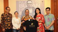 Pengurus Persatuan Artis Film Indonesia (PARFI 56) bertemu Menaker Hanif Dhakiri untuk membahas profesi artis dan pekerja seni.