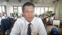 Direktur Bisnis Regional Sumatera PLN, Wiluyo Kusdwiharto (Dok Foto: Nurseffi Dwi Wahyuni/Liputan6.com)