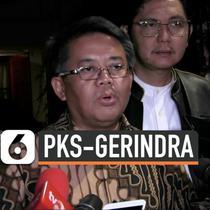Pimpinan PKS mendatangi kediaman Ketum Gerindra Prabowo Subianto. PKS mendoakan Prabowo bisa menjalankan amanah di bidang pertahanan.