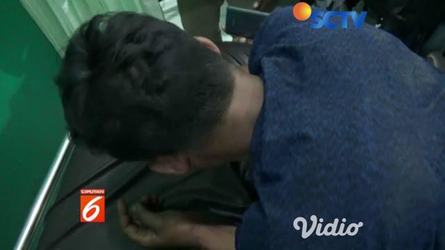 Pelaku pembobolan berinisial SR warga kota Malang dilarikan ke rumah sakit umum Aisyiyah Ponorogo karena menderita luka tembak di kaki kanan.
