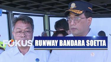 Menhub mengatakan adanya penambahan landasan pacu di Bandara Soetta, maskapai dapat menghemat biaya operasional.