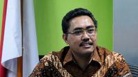 Sekretaris Fraksi PKB DPR Jazilul Fawaid saat konferensi pers mengenai pernyataan sikap Fraksi PKB atas kisruh DPR, Senayan, Jakarta, Kamis (13/11/2014) (Liputan6.com/Andrian M Tunay)