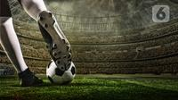 ilustrasi Sepak Bola (Liputan6.com/Abdillah)