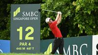 James Leow membidik prestasi di SMBC Singapore Open 2020. (Dok Lagardere Sports)
