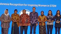 Para peneliti perempuan peraih penghargaan GE Indonesia. (Liputan6.com/Dinny Mutiah)
