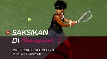 Berita Video Saksikan Aksi Petenis Kelas Dunia dalam ATP Western dan Southern Open 2020 di Champions TV 1