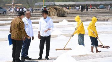 Presiden Jokowi di NTT