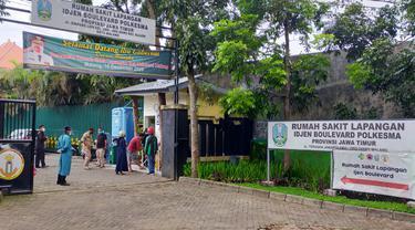 Kapasitas RS Lapangan Ijen Malang 100 Persen Penuh Pasien Covid-19, Butuh Bed Tambahan