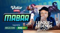 Main Bareng League of Legends: Wild Rift bersama Pokopow, Rabu (4/11/2020) pukul 19.00 WIB dapat disaksikan melalui platform Vidio, laman Bola.com, dan Bola.net. (Sumber: Vidio)