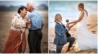 Potret Pasangan Lansia Harmonis. (Sumber: Brightside)