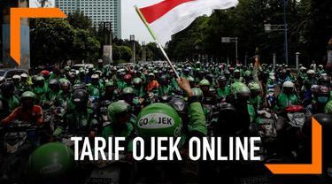 Menteri Perhubungan Budi Karya mengingatkan masyarakat kalau penerapan tarif baru ojek online mulai diberlakukan pada Rabu 1 Mei 2019.