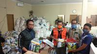 Polisi target perampungan penyelidikan kasus dugaan mark up paket sembako Covid19 di Makassar (Liputam6.com/ Eka Hakim)