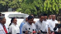 Bakal Capres dan Cawapres Prabowo Subianto dan Sandiaga Uno menjalani tes kesehatan di RSPAD, Jakarta. (Merdeka.com/ Hari Ariyanti)