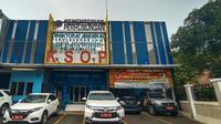 Kantor Syahbandar Dan Otoritas Pelabuhan (KSOP) Klas I Banten Di Kota Cilegon. (Senin, 26/10/2020). (Yandhi Deslatama/Liputan6.com)