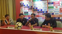 Pelatih Timnas Thailand U-19, Bamrung Boonprom, menyebut timnya menjadikan PSSI Anniversary sebagai ajang adaptasi cuaca dan juga kesiapan Piala AFC U-19 2018. (Bola.com/Zulfirdaus Harahap)