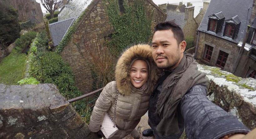 Rachel Maryam bersama suami Edwin Aprihandono. (Instagram)