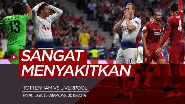 Berita video Manajer Tottenham Hotspur, Mauricio Pochettino, mengatakan sangat menyakitkan bisa kalah di Final Liga Champions 2018-2019 melawan Liverpool.