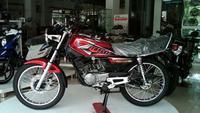 RX King menjadi jawaban Yamaha atas sebuah sepeda motor yang larinya kencang, namun tetap irit dan memiliki desain yang gagah.