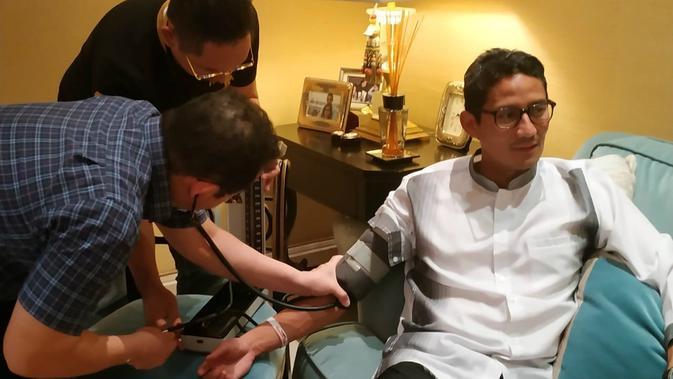 BPN: Dokter Minta Sandiaga Uno Istirahat Total