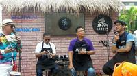 BRI menggelar acara amal barista showcase bertajuk A Cup for Lombok dan Donggala pada Minggu (30/9/2018). (Bawono/Liputan6.com)