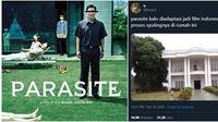 Meme Jika Parasite Diadaptasi Jadi Film Indonesia (Sumber: Twitter @faizaufi)