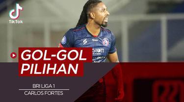 Berita video TikTok tentang deretan gol pilihan di BRI Liga 1 series pertama.