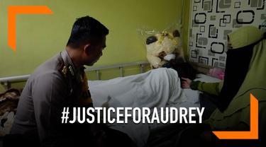 Pihak kepolisian mengungkapkan hasil visum Audrey, korban penganiayaan sejumlah siswa SMA di Pontianak. Hasil visum ini menepis beberapa informasi yang tersebar di media sosial.