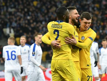 Chelsea Singkirkan Dynamo Kiev