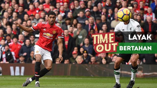 Berita video Time Out kali ini tentang pemain-pemain Manchester United yang dianggap layak dipertahankan klub.