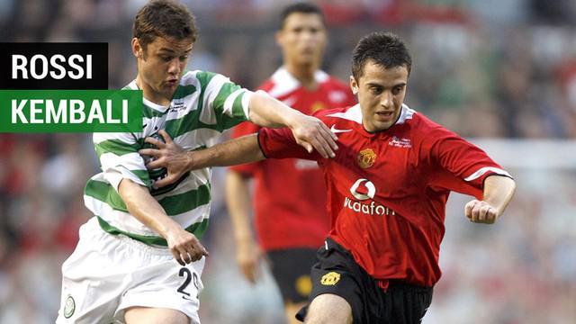 Berita video striker Giuseppe Rossi kembali ke Manchester United dan bahkan sampai disempatkan Sir Alex Ferguson untuk dihampiri.
