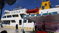 Kemenhub resmikan kapal ternak Camara Nusantara 2 di Pelabuhan Tenau (Foto:Dok Kementerian Perhubungan)