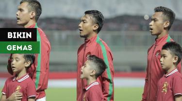 Berita video momen yang menggemaskan saat Timnas Indonesia U-23 menghadapi Bahrain di Anniversary Cup 2018.