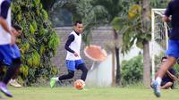 Sunarto kembali membela Arema FC (Liputan6.com/Rana Adwa)