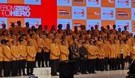 Pelantikan pengurus baru DPP Partai Hanura (M Genantan/Merdeka.com)