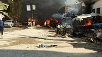 Bom bunuh diri di kota utara Suriah. Pemerintah Turki salahkan kelompok militer Kurdi. Dok: Twitter Kementerian Pertahanan Nasional Turki  @tcsavunma