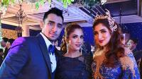 Amira Alwi bersama Tania Nadira dan Abdulla Alwi (Sumber: Instagram/amiralwi)