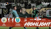 Laga lanjutan Shopee Liga 1, PSS Sleman VS Persela Lamongan berakhir Dengan imbang 1-1 #shopeeliga1 #PSS Sleman #Persela Lamongan