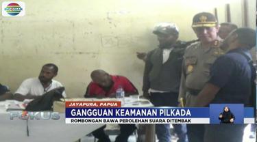 Kelompok kriminal bersenjata tembak dua polisi dan satu camat yang membawa hasil rekapan suara Pilkada Papua. Ketiga korban pun tewas.