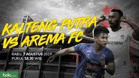 Liga 1 2019: Kalteng Putra vs Arema FC. (Bola.com/Dody Iryawan)