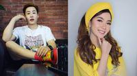 YouTuber Korea Ujung Oppa (kiri). Kania Permatasari Bintang Pantura 5 (kanan). (Instagram/@hwangwoojoong/@kania_permatasari)
