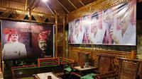 Warga Sulap Rumah Jadi Posko Demi Cagub Sulsel, Ichsan Yasin Limpo (Liputan6.com/ Eka Hakim)