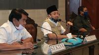 Wali Kota Malang Sutiaji hanya mengimbau masyarakat agar melaksanakan ibadah idul fitri 2020 di rumah masing - masing (Humas Pemkot Malang)