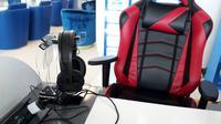 Fasilitas untuk gamer di Bandara Soetta. kedaiwebsite.id/Pramita Tristiawati