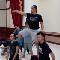 Candil ikut andil dalam pementasan Drama Musikal Kolosal berjudul Tekad Indonesia Jaya (Istimewa)